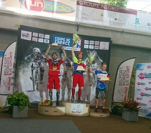 Podium Finale Coupe de France VTT Trial BELFORT