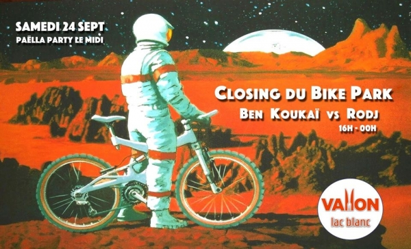 Closing Party Bike Park Lac Blanc