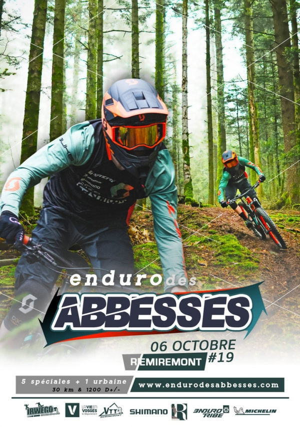 Course : Enduro des Abbesses à Remiremont (88)
